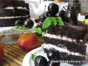Шоколадный торт на раз, два