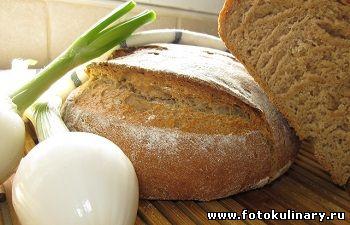 Ржаной хлебушек на кефире
