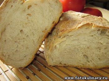 Домашний хлеб (Чиабатта)