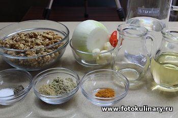 Сациви из овощей✦Запечённые овощи под соусом Сациви