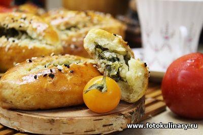 Турецкие пирожки с творогом и сыром на бездрожжевом тесте