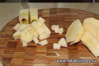 Австрийские пончики с яблоками