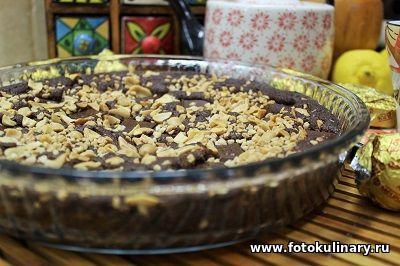 Шоколадно-ореховое печенье ✦ Большое, одно на всех