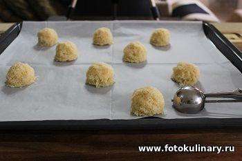 Десертные кокосовые шарики