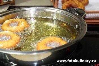 Французские заварные пончики