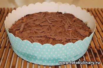 Печенье с шоколадной начинкой
