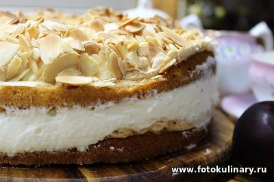 """Норвежский """"Лучший в мире торт""""✦Verdens beste kake"""