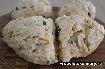 Лепёшки с сыром и творогом