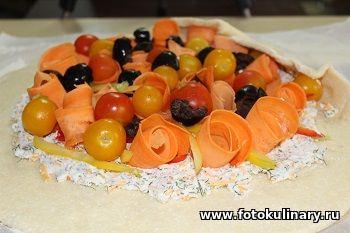 Овощная галета