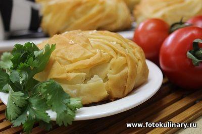 Бурекасы ✦ Слоёные пирожки с начинкой