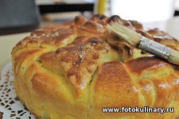 Праздничный рыбный пирог