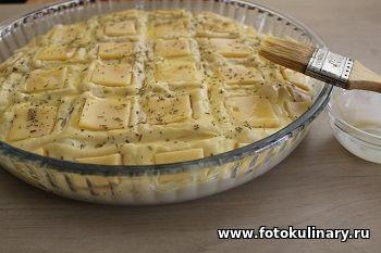 Погача по-сербски. Хлеб-лепёшка с сыром.