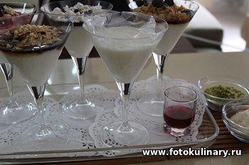 Малаби. Молочный десерт