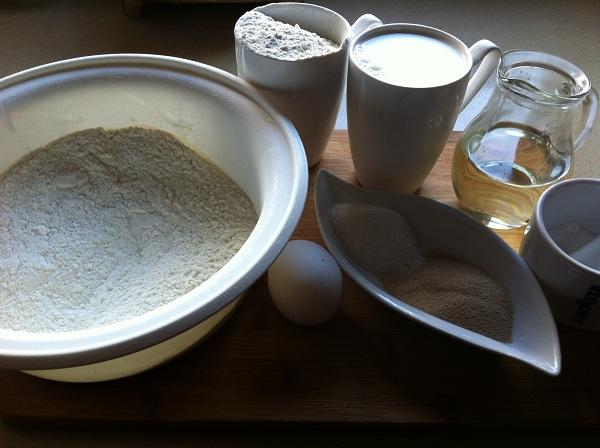 дрожжевое тесто для пирожков и беляшей