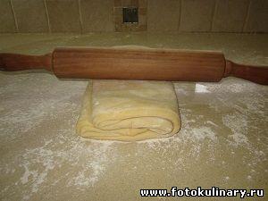 Слоёное тесто бездрожжевое