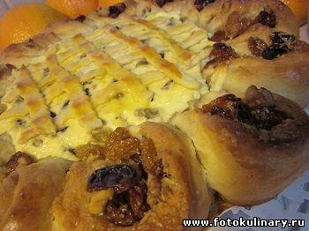 пирог с творогом из хрущевского теста
