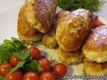 Зразы куриные с начинкой из сыра и зелени