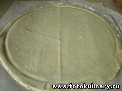 "Пирог из хрущёвского теста ""Три сыра"""